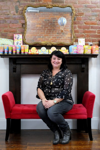 Liz Quesnelle, owner of Gilded Girl. Photo by Brian Cohen.