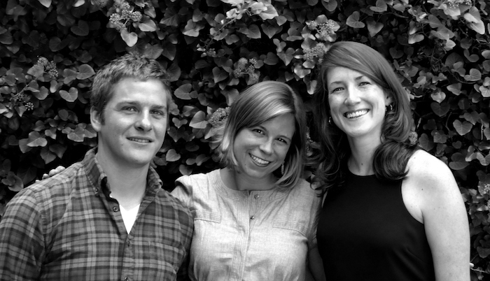 The Littsburgh Team (L to R): Nick Courage, Rachel Ekstrom Courage and Katie Kurtzman. Courtesy Littsburgh.