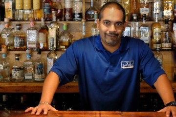 David Montanez, owner of Las Velas in Market Square, says Pittsburgh is a great place to do business. Photo by Brian Cohen.
