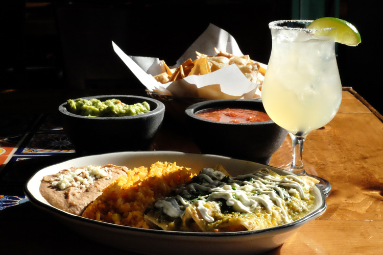 The food at Las Velas is inspired by owner David Montanez' Mexican heritage. Photo by Brian Cohen.