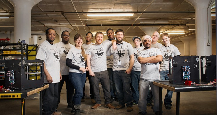 The team at BoXZY.