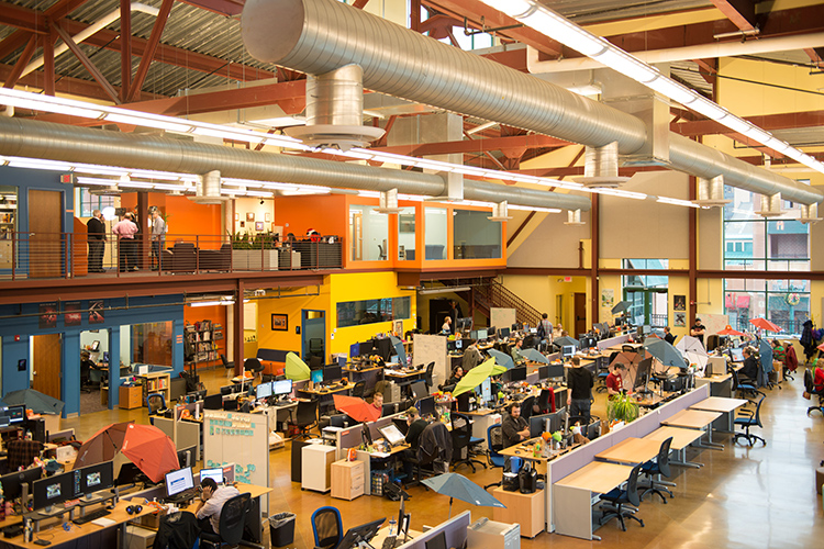 Schell Games in Station Square expects a banner year. It might be the most colorful workplace in Pittsburgh.