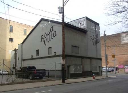The Rosa Villa, across from the Andy Warhol Museum.