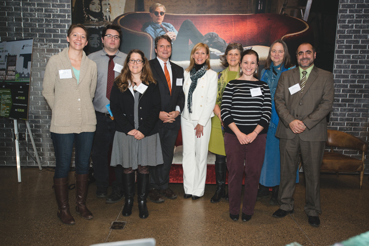 The winners of Sustainable Pittsburgh's Green Workplace Challenge, Courtesy Sustainable Pittsburgh.