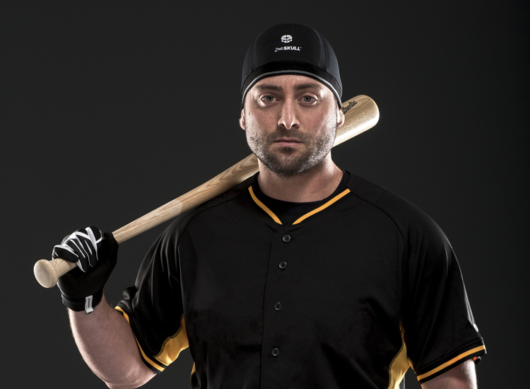 Pittsburgh Pirate Francisco Cervelli sports one of 2nd Skull's caps. Courtesy 2nd Skull.