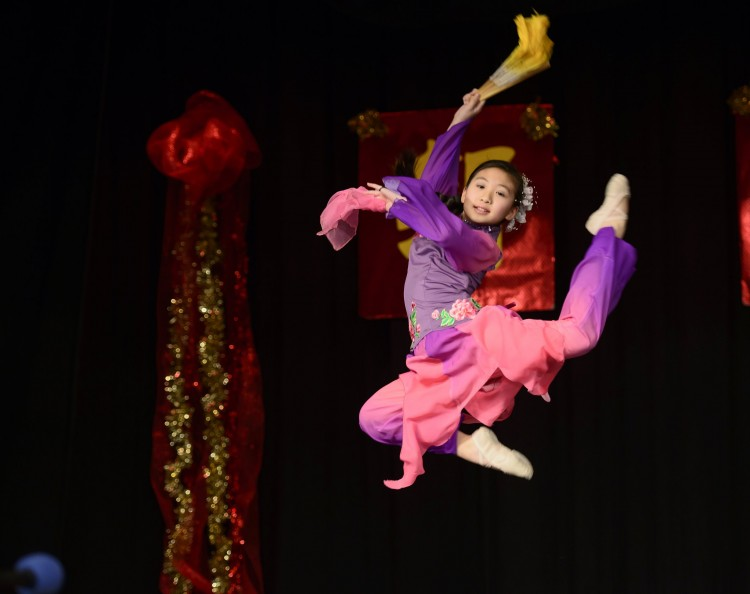 Celebrating Chinese New Year through dance. Photo: Dequan Dave Jiao.