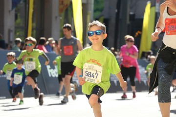 Over 6,000 kids participated in the Toyota Kids Marathon in 2015 in Pittsburgh. Photo courtesy of P3R.