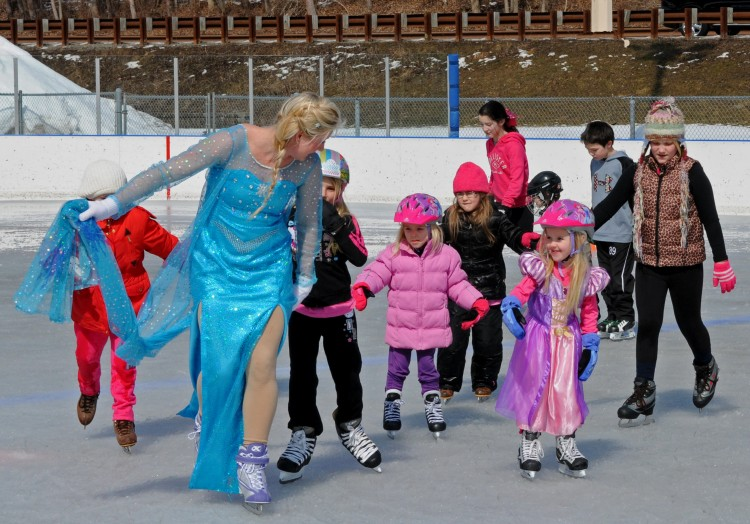 Royal Skate winter fun at South Park. Photo: Allegheny County Parks.