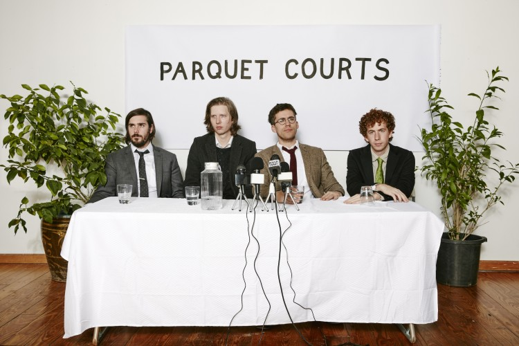 Parquet Courts. Photo by Ben Rayner.