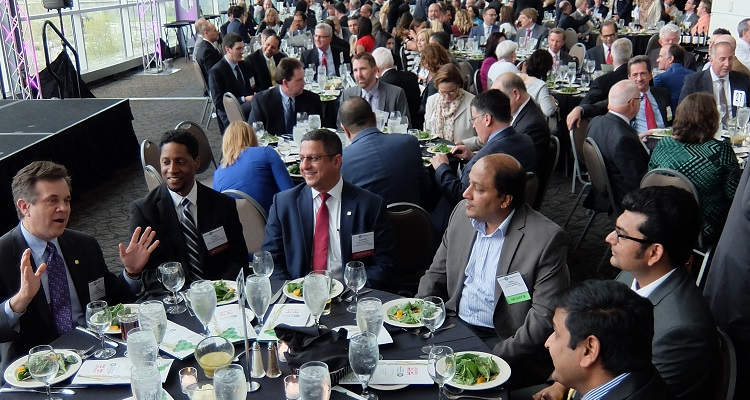 Crowd at the PTC CIO of the Year awards