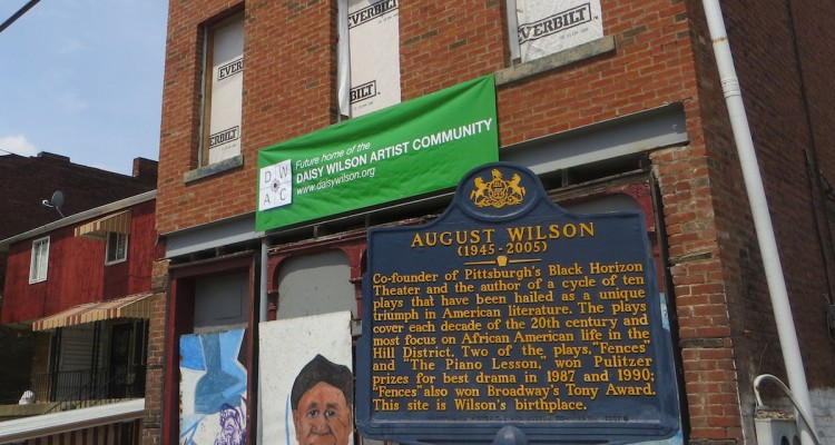 August Wilson House at 1727 Bedford Avenue.  Photo by Maya Henry.