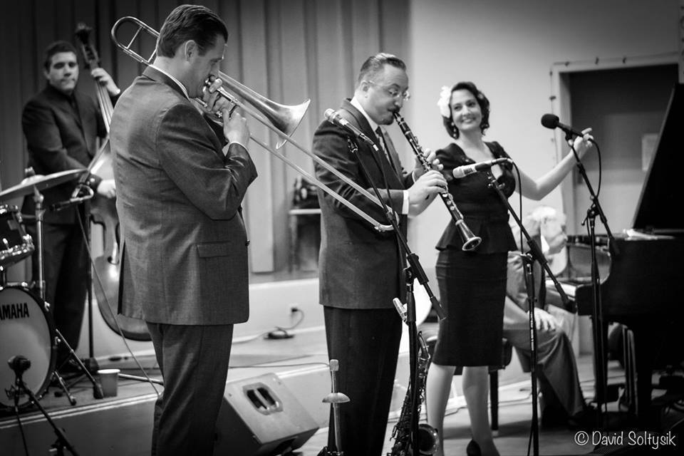 The Boilermaker Jazz Band. Photo: David Soltysik.