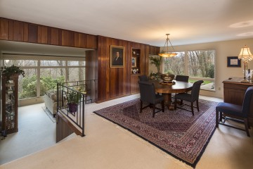 Dining room at 11 Winthrop in Rosslyn Farms