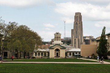 Carnegie Mellon University and University of Pittsburgh photo by Rob Larson.