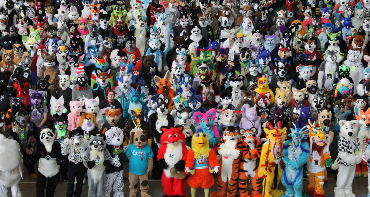 Anthrocon 2015. Photo by Brian Conway.