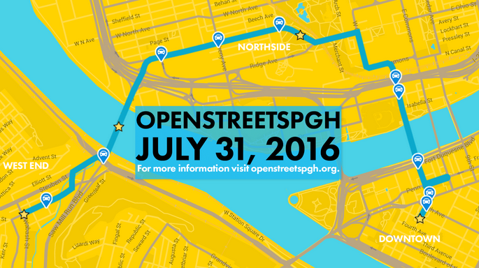 New OpenStreetsPGH route.