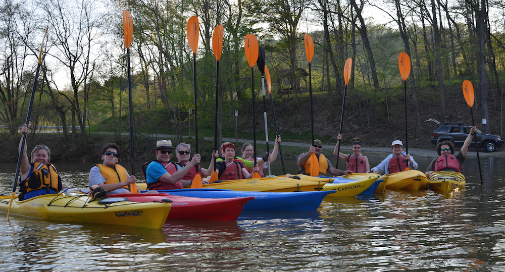 Venture Outdoors Kayak Group
