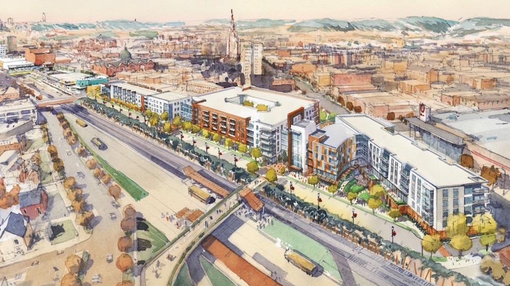 Eastside Bond Tenants Moving Walkable Development Public Plaza on Kansas Floor Plans