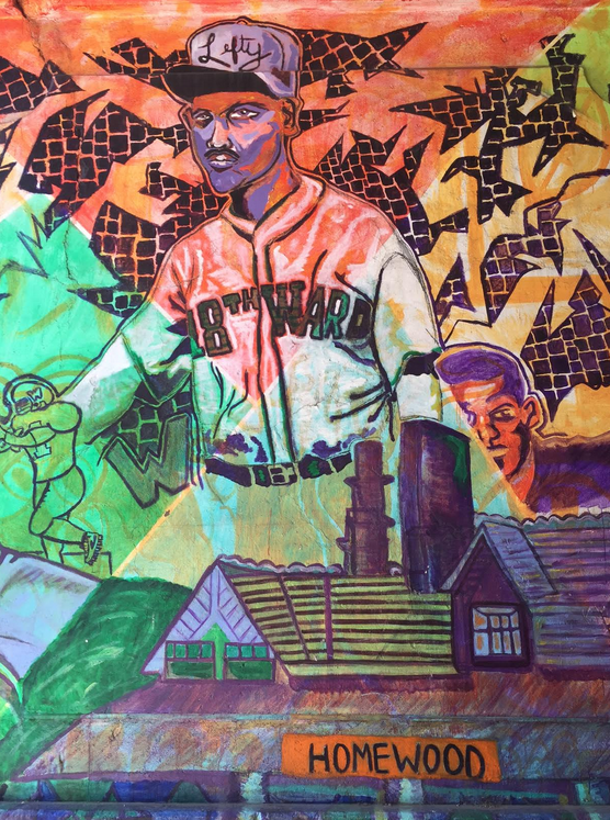"""""""Peace Over Pittsburgh"""" art mural located under the overpass at N. Homewood Ave. and Finance St."""