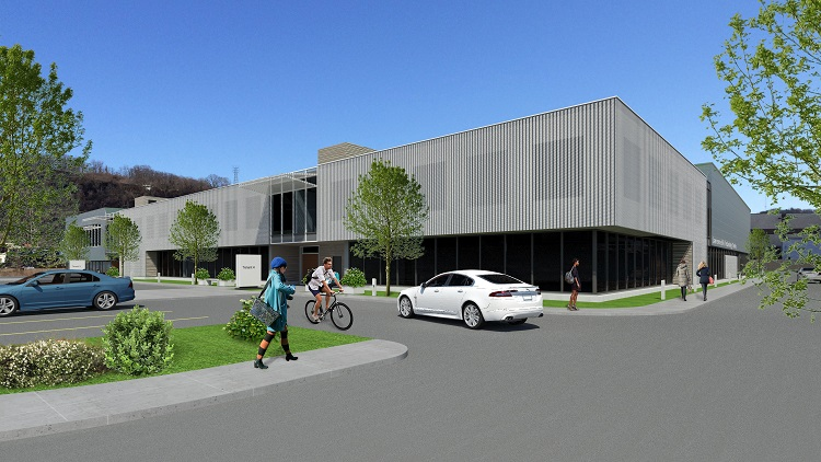 Rendering of Tech Forge in Lawrenceville. Image courtesy of RIDC.