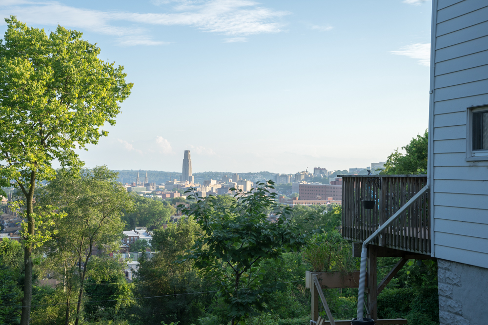 View of Oakland from upper Garfield. Brian Conway photo.