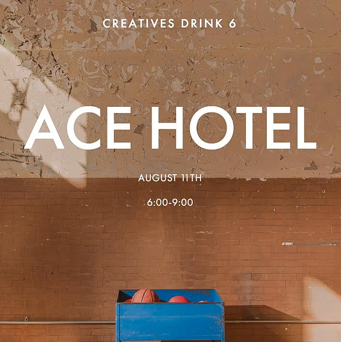Creatives Drink Series Heads To Ace Hotel Pittsburgh