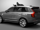 Uber's modified Volvo XC90 sport-utility vehicle.