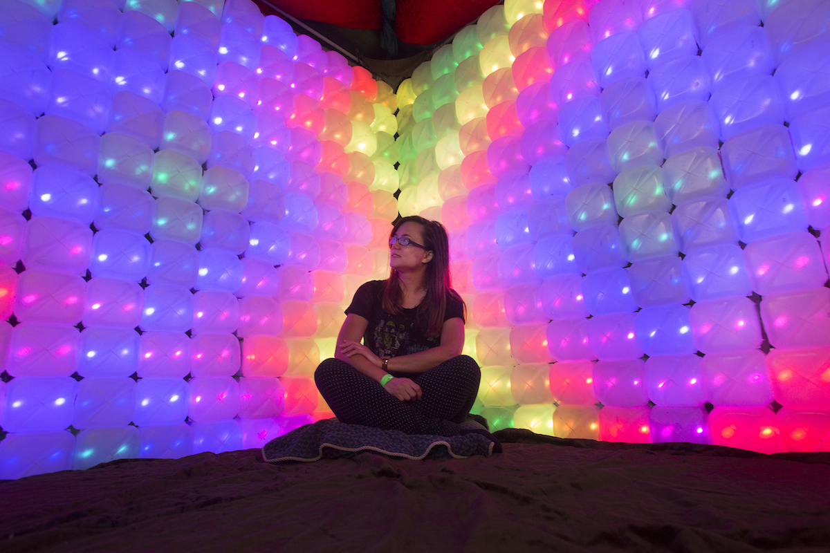 From Maker Faire 2015. Photo by Larry Rippel