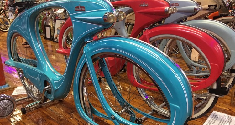 The famous Bowden bikes go for up to $4800. Photo by Tracy Certo