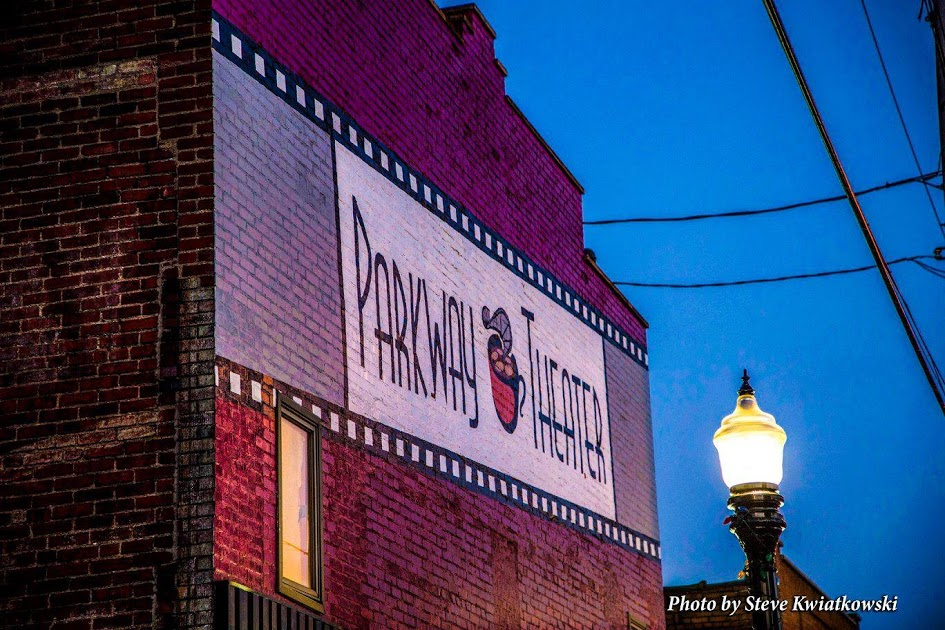 Parkway Theater, home to Abjuration Brew Co.
