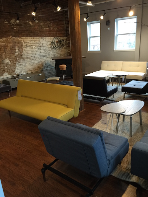 Perlora loft opens with affordable options for younger buyers for Affordable furniture pittsburgh