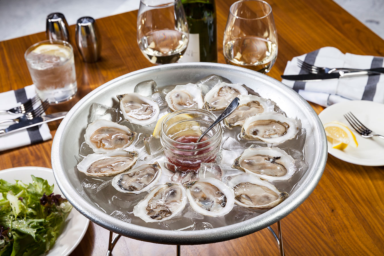 Oysters at Carnegie Café
