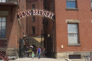 Families find Penn Brewery very welcoming. Photo by TH Carlisle for NEXTpittsburgh.