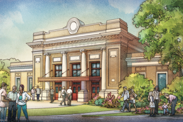 Wilkinsburg train station rendering