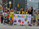 Pittsburgh Pride parade, celebrating the LGBTQ community. Photo by Brian Cohen.