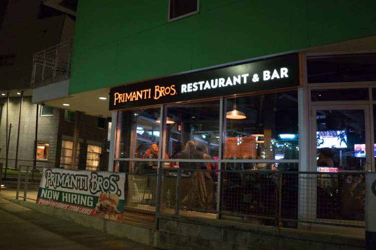 New Primanti Bros. at 5491 Penn Ave. in Garfield. Brian Conway photo.