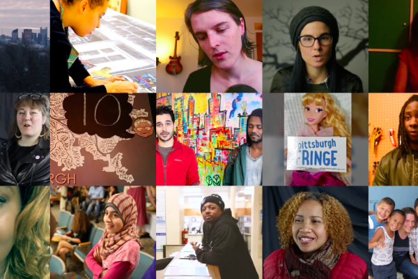 """Collage of """"100 Days of US"""" projects, courtesy of The Sprout Fund."""