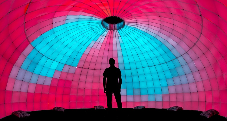 2016 CREATE Festival artist Ian Brill. Image courtesy of the Pittsburgh Technology Council.
