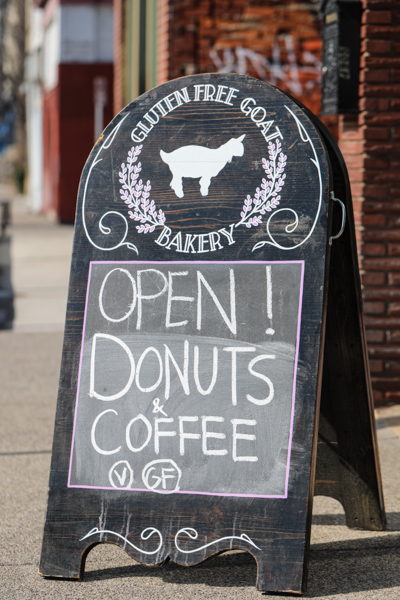 Gluten Free Goat Bakery and Café on Penn Ave. in Garfield