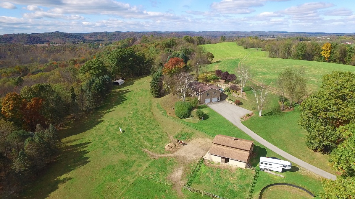 A 7 acre farm in Manor Township
