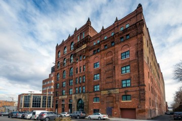 The Brew House on the South Side of Pittsburgh is one example of a mixed-income development financed by a private developer. (Photo courtesy of the TREK Development Group)