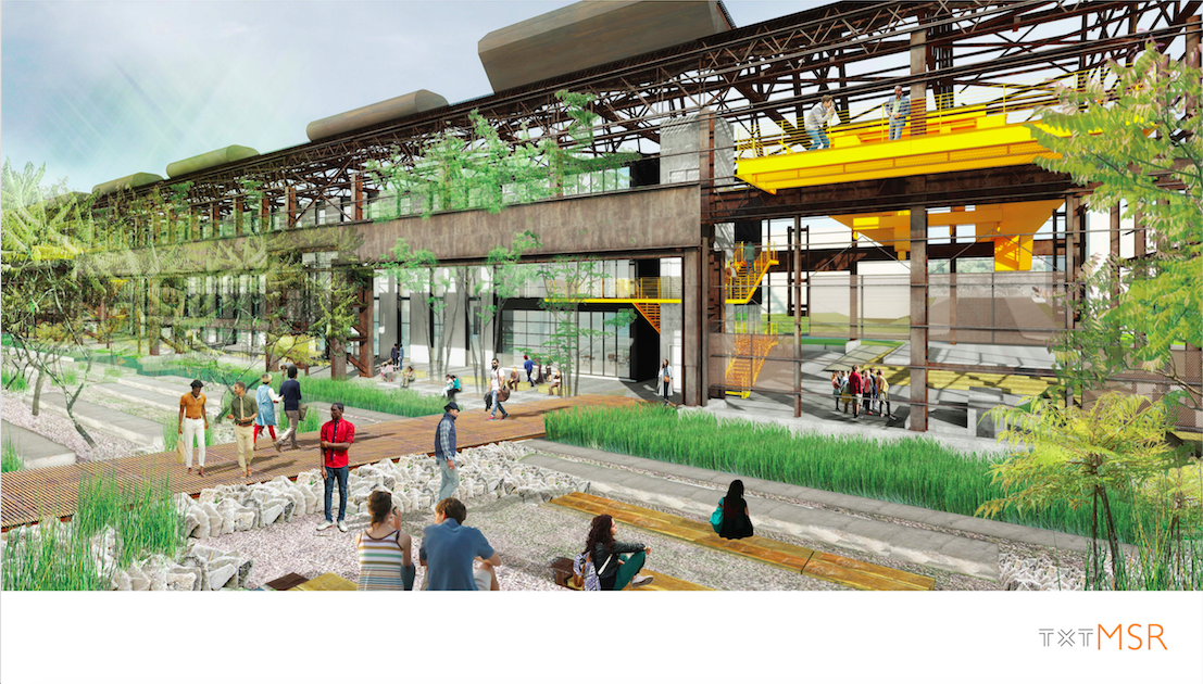 Rendering of Mill 19 project, courtesy of RIDC