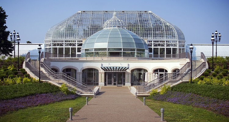 The Phipps Welcome Center. Photo by Denmarsh Photography, Inc.