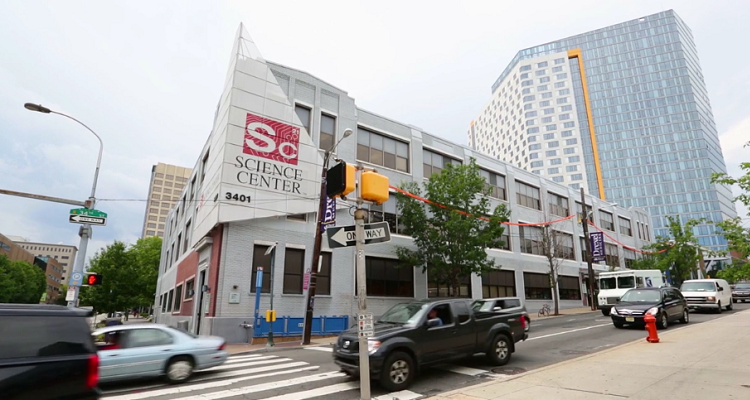 University City Science Center in Philadelphia. Image courtesy of Science Center.
