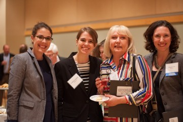 This photo is from L - R, me, Lindsay Angelo, CONNECT's Project and Outreach Manager; Mary Ellen Ramage, Manager, Etna Borough; Megan Turnbull, Partner, GRB Law at CONNECT's 2016 Annual Congress. Photo from University of Pittsburgh's Graduate School for Public and International Affairs.